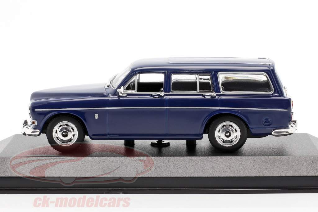Volvo 121 Amazon Break año 1966 oscuro azul 1:43 Minichamps