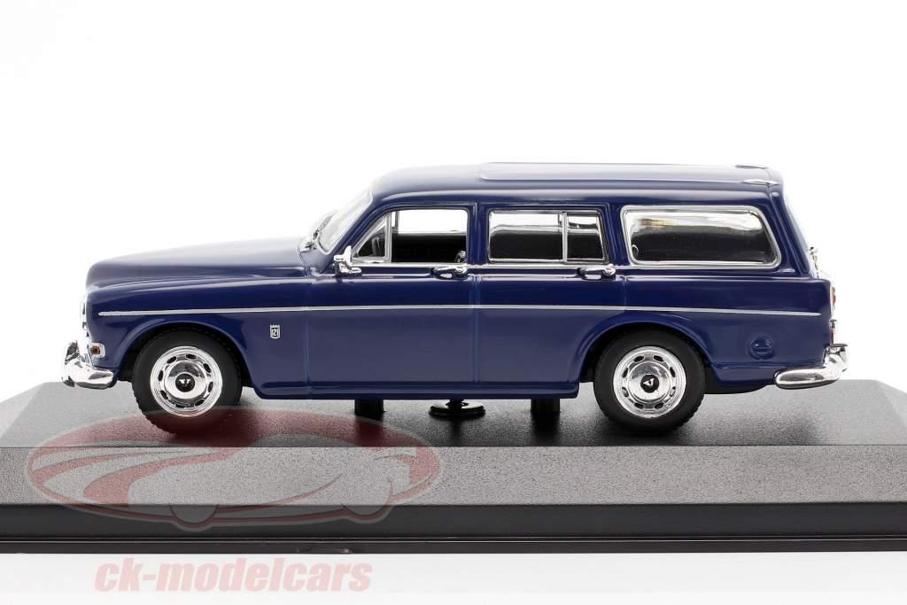 Volvo 121 Amazon Break ano 1966 Sombrio azul 1:43 Minichamps