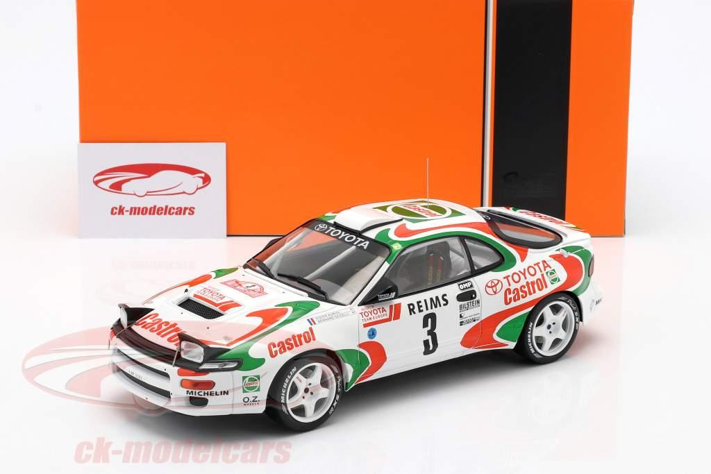 Toyota Celica Turbo 4WD #3 Sieger Rallye Monte Carlo 1993 Auriol, Occelli 1:18 Ixo
