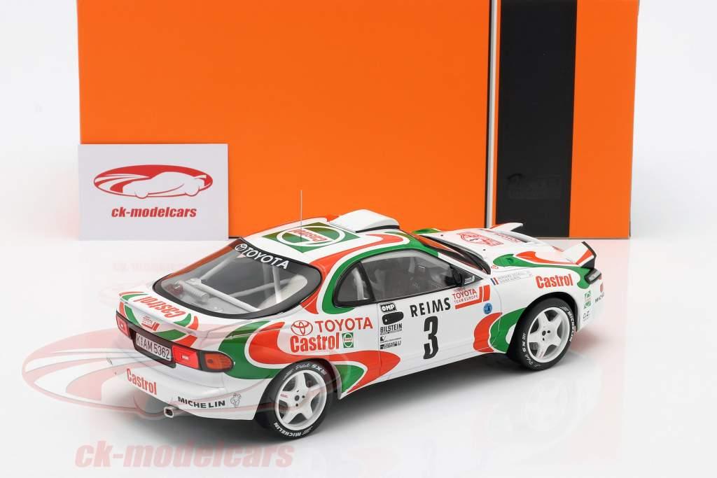 Toyota Celica Turbo 4WD #3 vincitore Rallye Monte Carlo 1993 Auriol, Occelli 1:18 Ixo