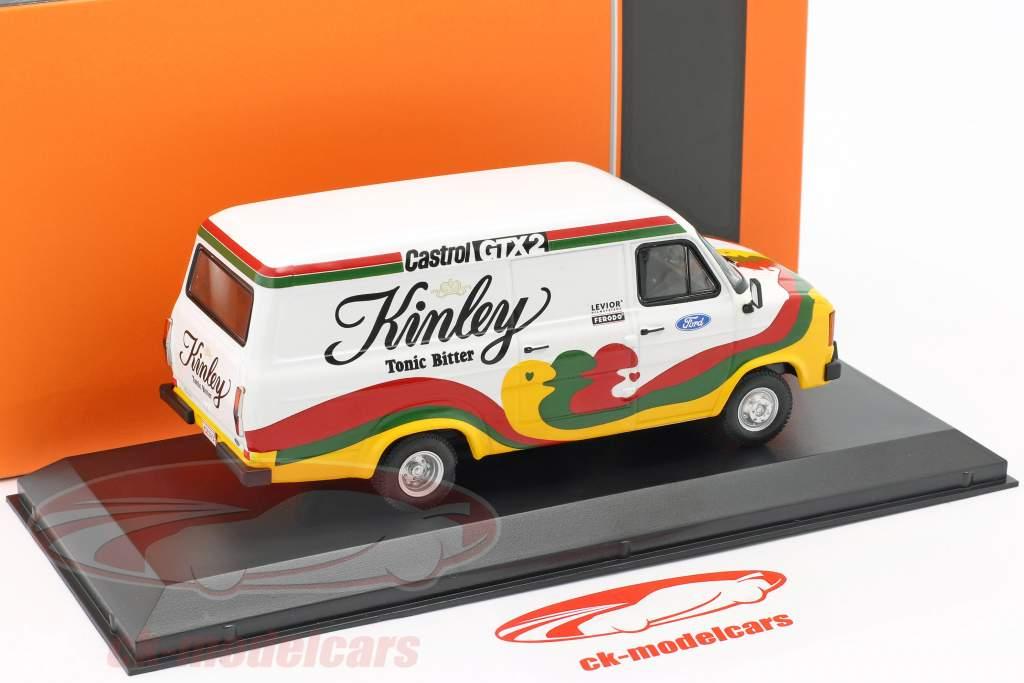 Ford Transit MK II Bouwjaar 1978 Kinley Team Belgie 1:43 Ixo