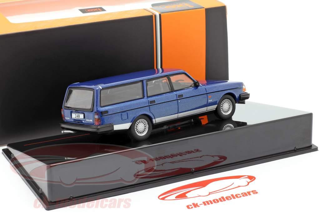 Volvo 240 Polar Anno di costruzione 1988 blu metallico 1:43 Ixo