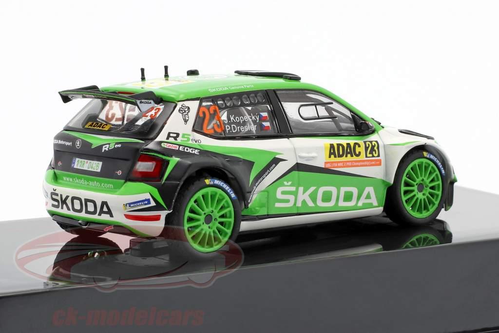 Skoda Fabia R5 Evo #23 Rallye Duitsland 2019 Kopecky, Dresler 1:43 Ixo