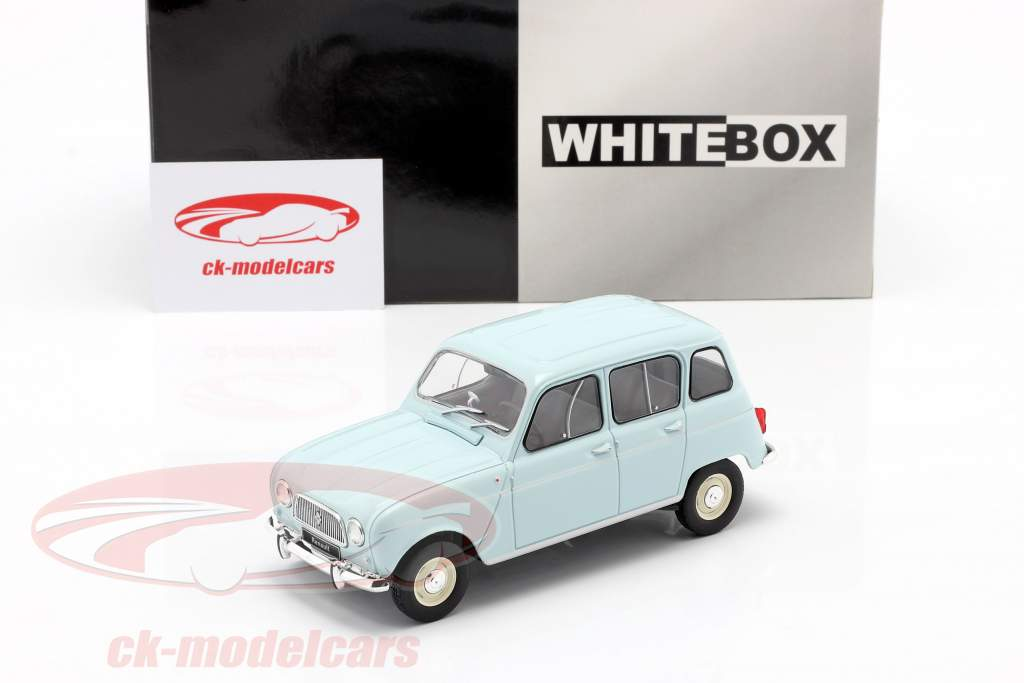 Renault 4L lichtblauw 1:24 WhiteBox