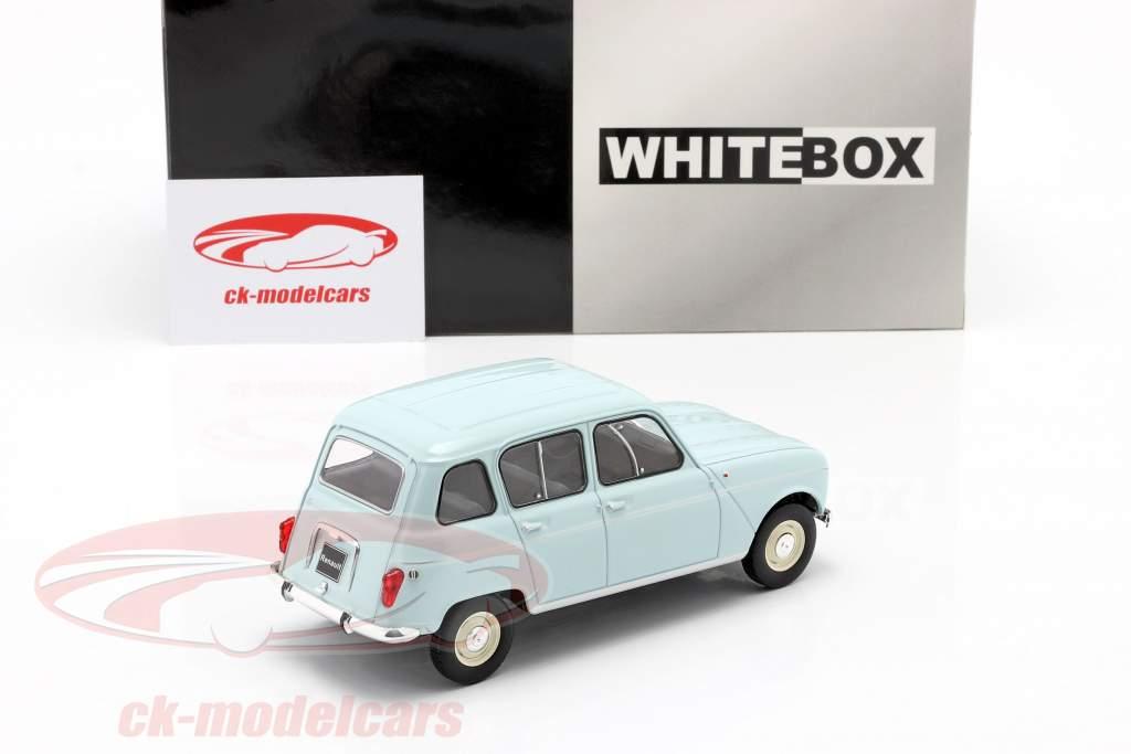 Renault 4L hellblau 1:24 WhiteBox