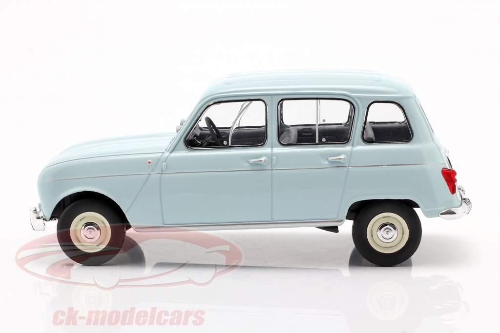 Renault 4L azul claro 1:24 WhiteBox