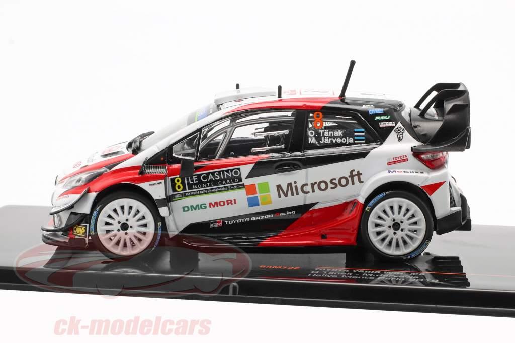 Toyota Yaris WRC #8 3e Rallye Monte Carlo 2019 Tänak, Järveoja 1:43 Ixo