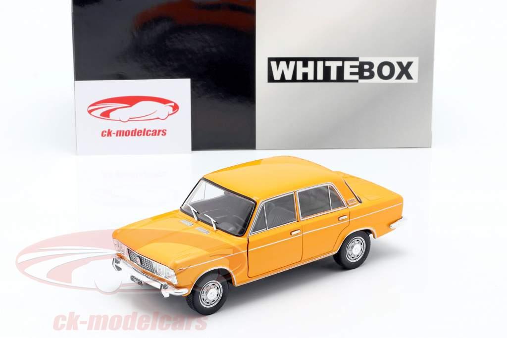 Fiat 125 orange 1:24 WhiteBox