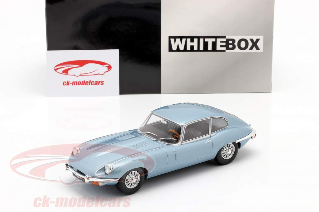 Jaguar E-Type azul metálico 1:24 WhiteBox