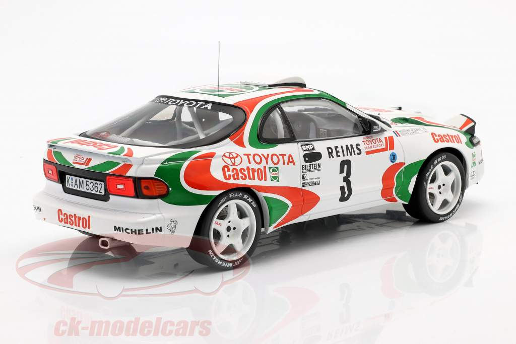 Toyota Celica Turbo 4WD #3 gagnant Rallye Monte Carlo 1993 Auriol, Occelli 1:18 Ixo