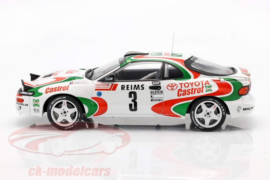 Toyota Celica Turbo 4WD #3 ganador Rallye Monte Carlo 1993 Auriol, Occelli 1:18 Ixo
