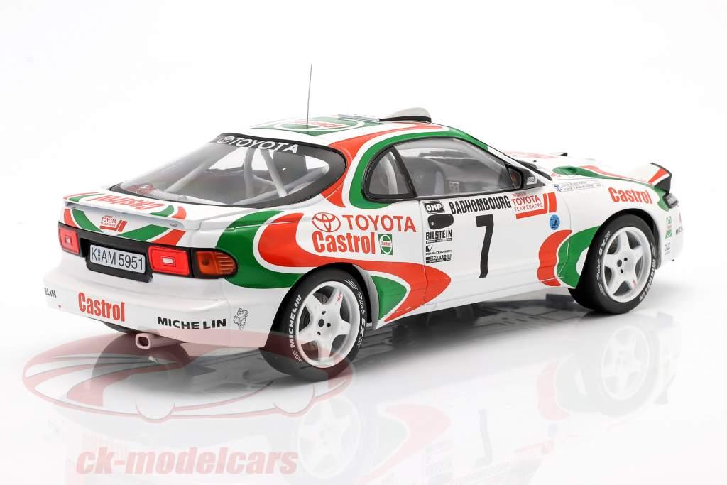 Toyota Celica Turbo 4WD #7 5 ° Rallye Monte Carlo 1993 Kankkunen, Piironen 1:18 Ixo