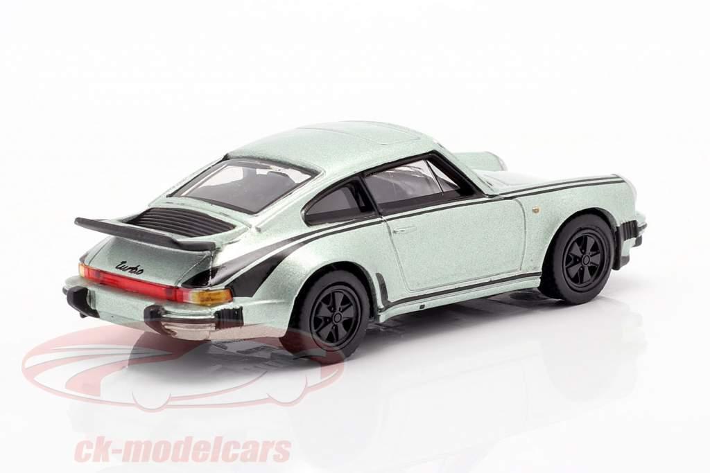 Urban Outlaw Set: Buch Magnus Walker & Porsche 930 1:64 Schuco