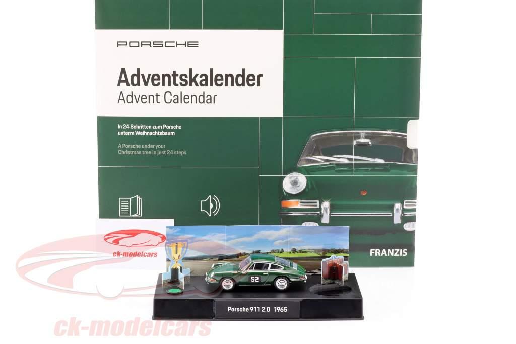 Porsche Advent kalender 2020: Porsche 911 1:43 Franzis