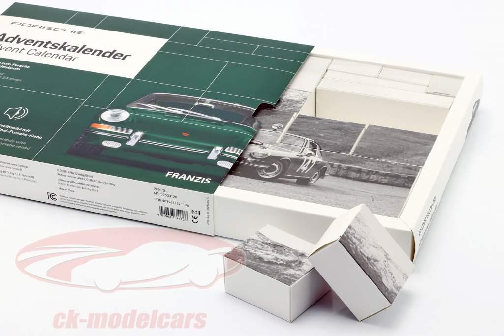 Porsche Adventskalender 2020: Porsche 911 1:43 Franzis