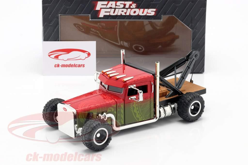 Custom Peterbilt Abschleppwagen Fast & Furious Hobbs & Shaw (2019) 1:24 Jada Toys