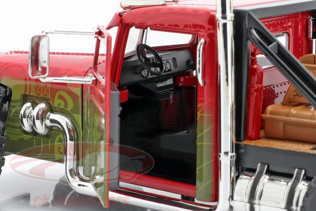 Custom Peterbilt Tow Truck Fast & Furious Hobbs & Shaw (2019) 1:24 Jada Toys
