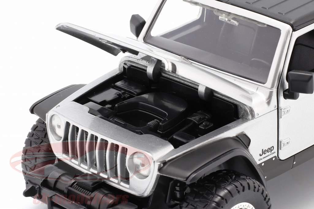 Jeep Gladiator année 2020 Fast & Furious 9 (2021) argent 1:24 Jada Toys