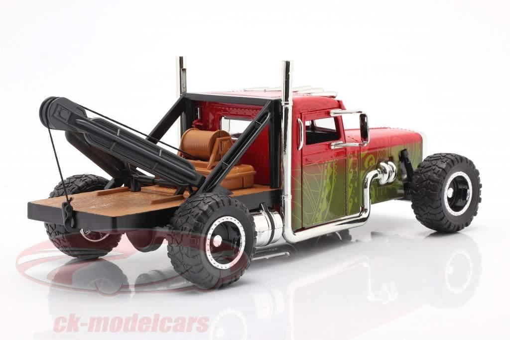 Custom Peterbilt Remorquer un camion Fast & Furious Hobbs & Shaw (2019) 1:24 Jada Toys