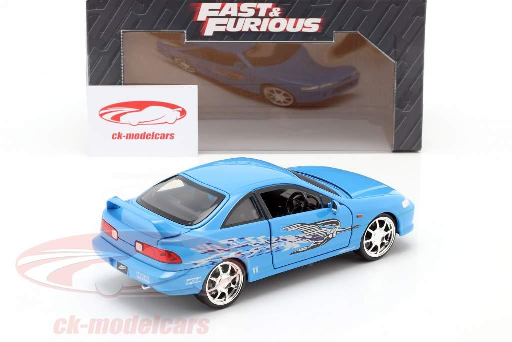 Mia's Honda Acura Integra 1995 映画 Fast & Furious (2001) 青い 1:24 Jada Toys