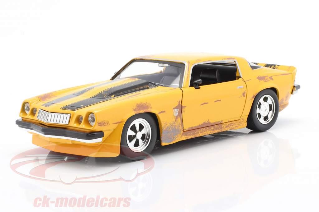 Chevrolet Camaro 1977 Transformers Bumblebee (2018) Jaune 1:24 Jada Toys