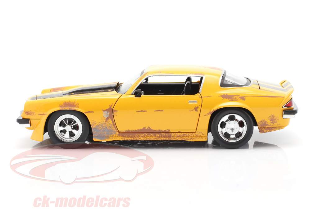 Chevrolet Camaro 1977 Transformers Bumblebee (2018) yellow 1:24 Jada Toys