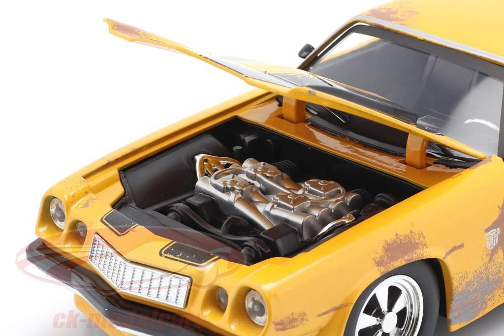 Chevrolet Camaro 1977 Transformers Bumblebee (2018) gelb 1:24 Jada Toys