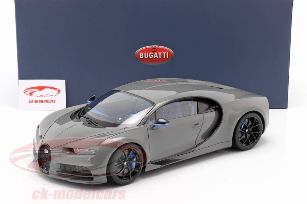 Bugatti Chiron Anno di costruzione 2017 jet Grigio 1:12 AUTOart