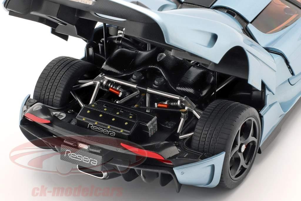 Koenigsegg Regera Bouwjaar 2016 horizon blauw 1:18 AUTOart