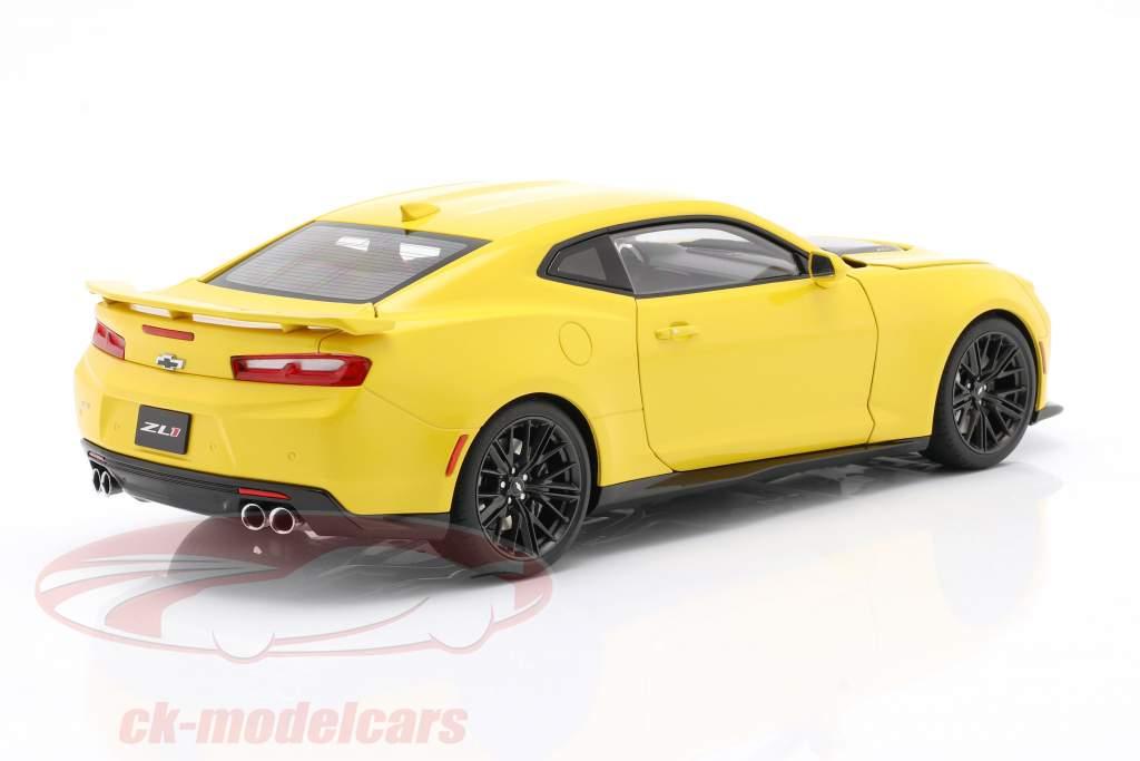 Chevrolet Camaro ZL1 Ano de construção 2017 brilhante amarelo 1:18 AUTOart