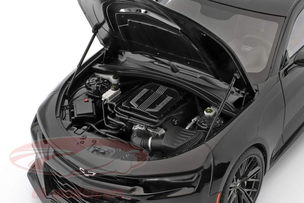 Chevrolet Camaro ZL1 Anno di costruzione 2017 nero 1:18 AUTOart