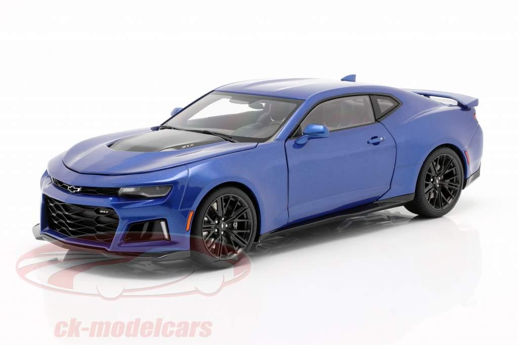 Chevrolet Camaro ZL1 Année de construction 2017 hyper bleu métallique 1:18 AUTOart