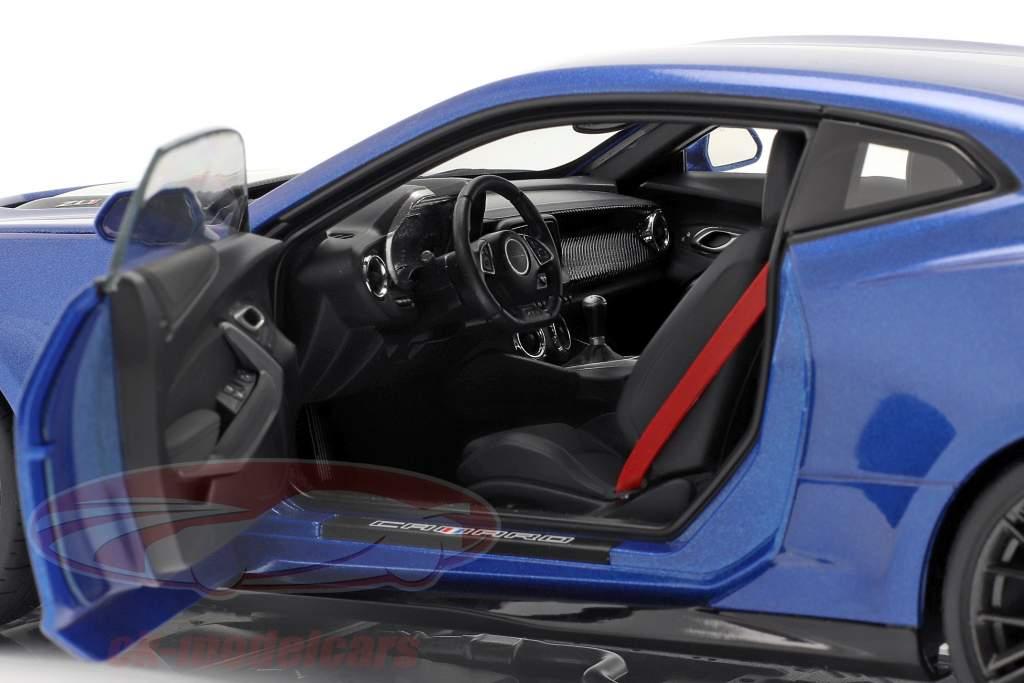 Chevrolet Camaro ZL1 Bouwjaar 2017 hyper blauw metalen 1:18 AUTOart
