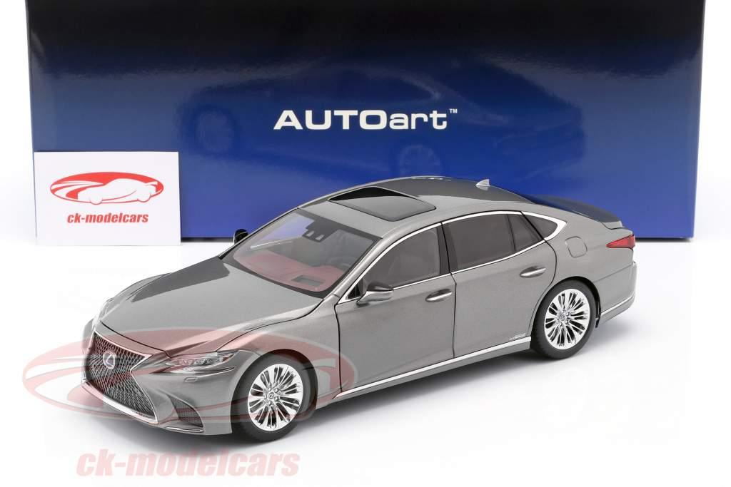 Lexus LS 500h Bouwjaar 2018 manganese luster metalen 1:18 AUTOart