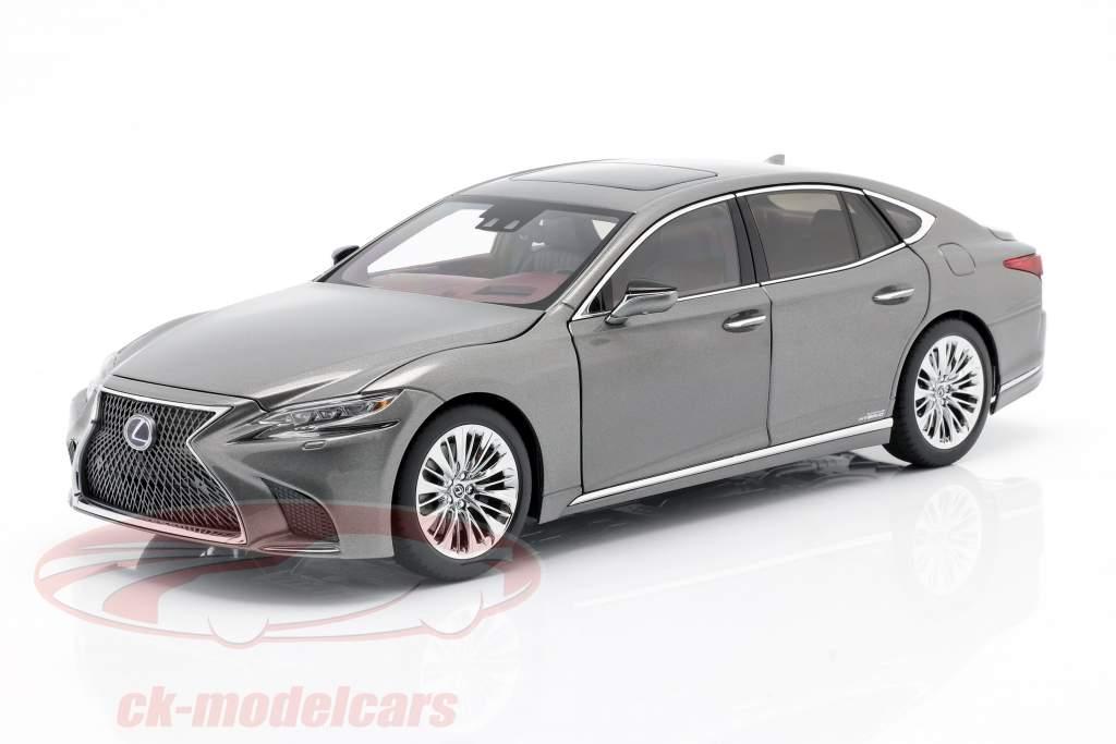Lexus LS 500h Ano de construção 2018 manganese luster metálico 1:18 AUTOart