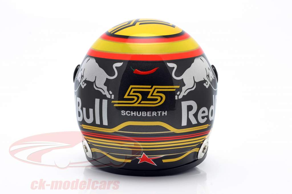 Carlos Sainz jr. #55 Renault Sport F1 Team fórmula 1 2018 casco 1:2 Schuberth