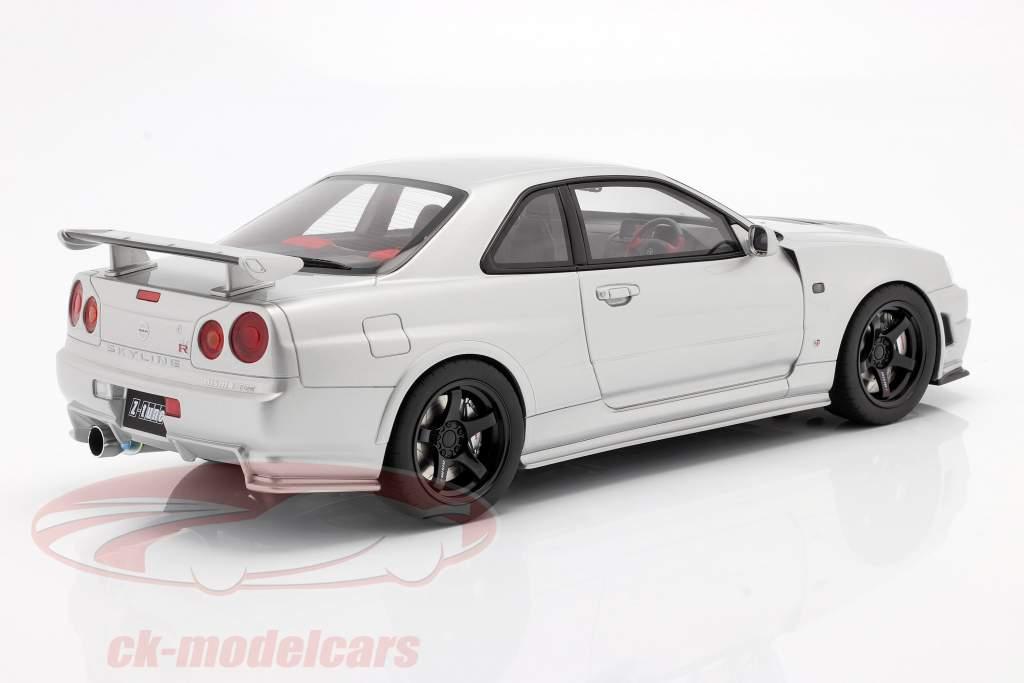 Nissan Skyline GT-R Nismo Z-Tune (R34) silber 1:12 Kyosho