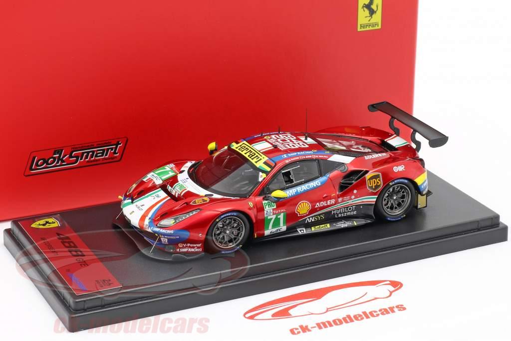 Ferrari 488 GTE Evo #71 24h LeMans 2019 Rigon, Bird, Molina 1:43 LookSmart