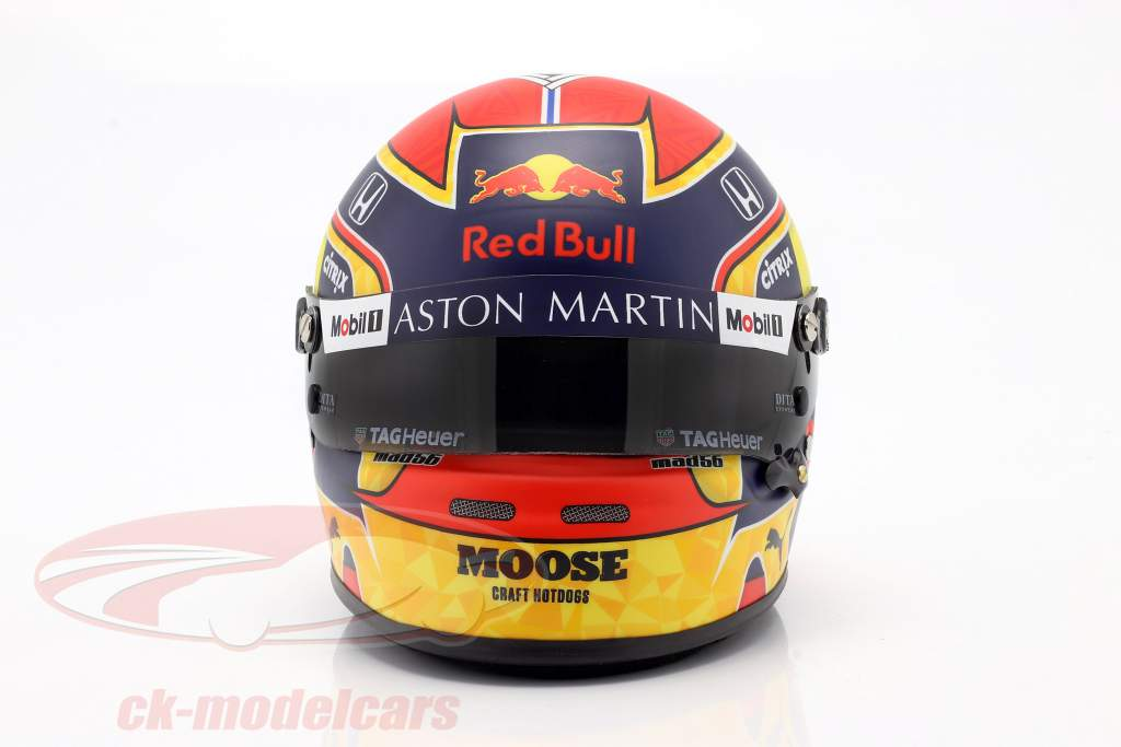 Alexander Albon #23 Aston Martin Red Bull Racing formula 1 2020 casco 1:2 Bell