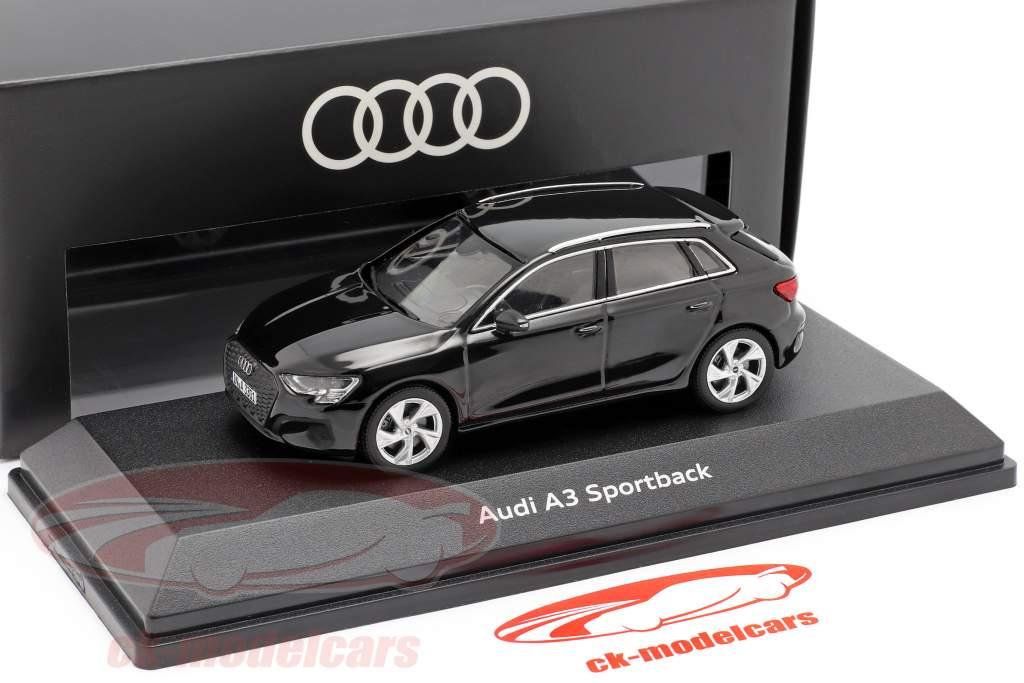 Iscale 1 43 Audi A3 Sportback Year 2020 Myth Black Audi 5011903032 Model Car 5011903032 2160000052732