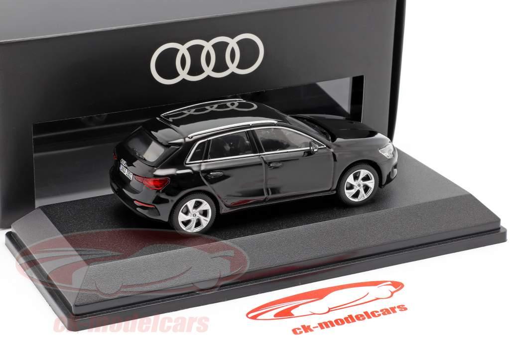 Audi A3 Sportback Anno di costruzione 2020 mito nero 1:43 Audi