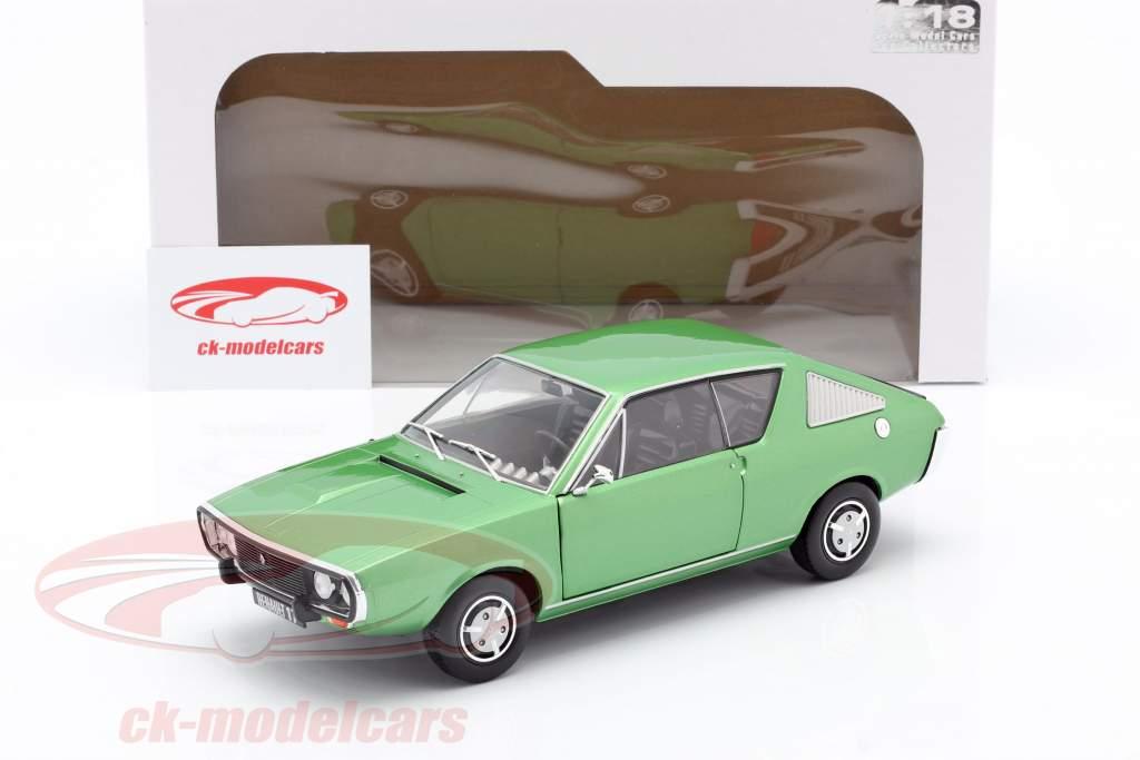 Renault R17 año 1976 verde metálico 1:18 Solido