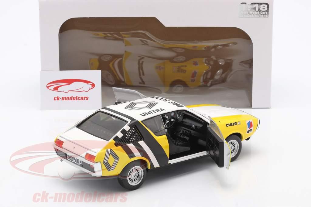 Renault R17 #2 Rallye de Pologne 1976 Krupa, Mystkowski 1:18 Solido