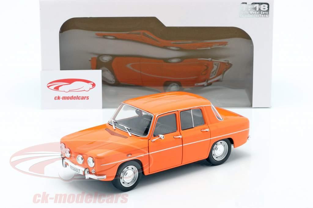 Renault 8 TS jaar 1967 oranje 1:18 Solido