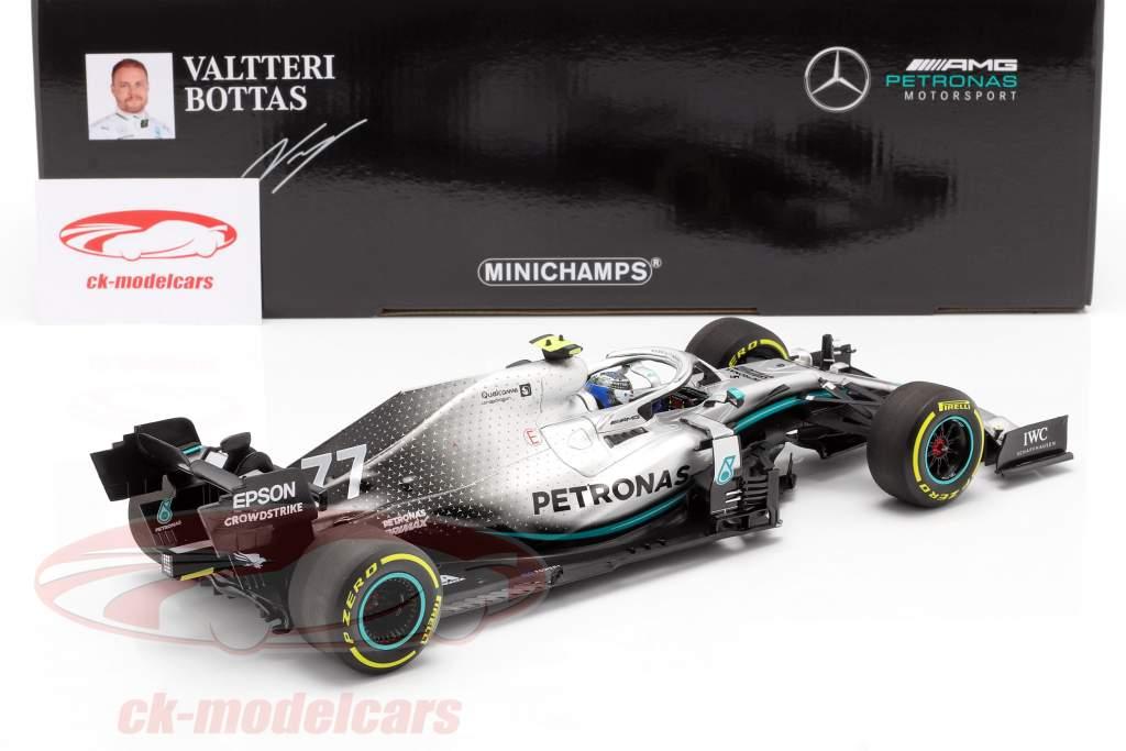 Valtteri Bottas Mercedes-AMG F1 W10 #77 Gagnant États Unis GP F1 2019 1:18 Minichamps