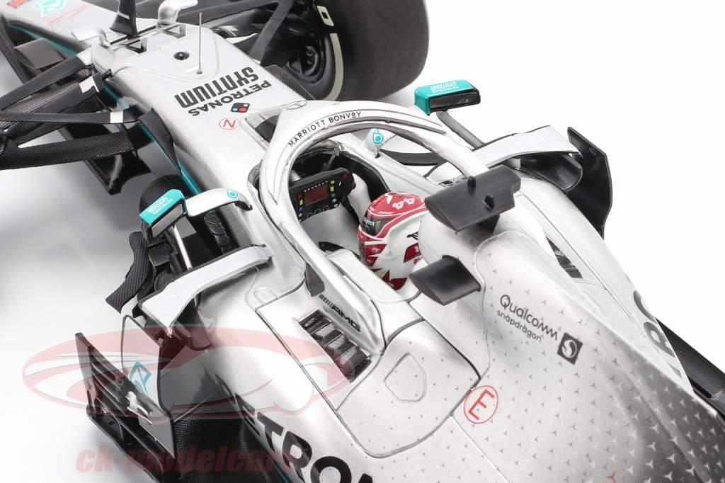L. Hamilton Mercedes-AMG F1 W10 #44 États Unis GP Champion du monde F1 2019 1:18 Minichamps