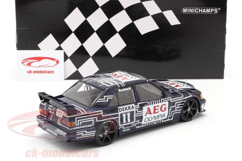 Mercedes-Benz 190E 2.5-16 Evo 1 #11 DTM 1989 Dany Snobeck 1:18 Minichamps