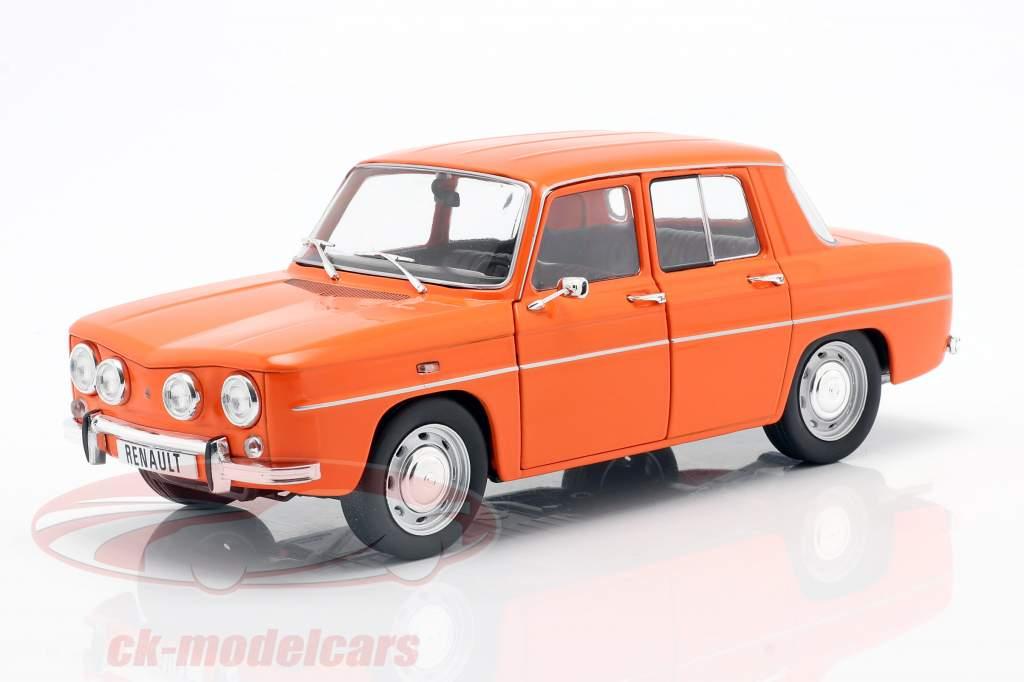 Renault 8 TS år 1967 orange 1:18 Solido