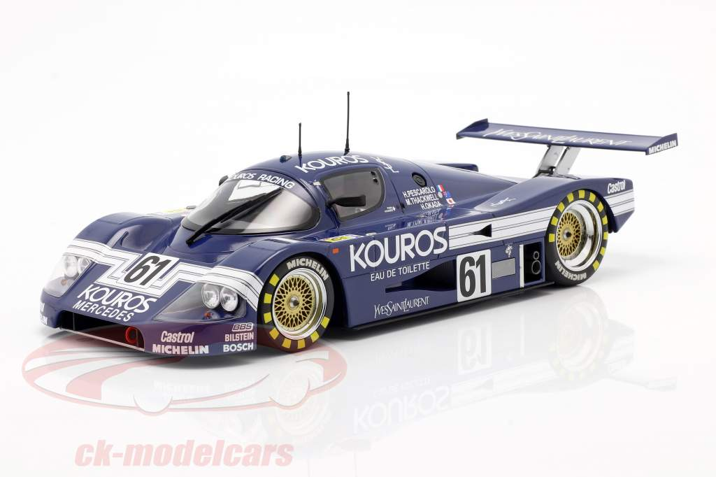 Sauber-Mercedes C9 #61 24h LeMans 1987 Kouros Racing 1:18 Minichamps