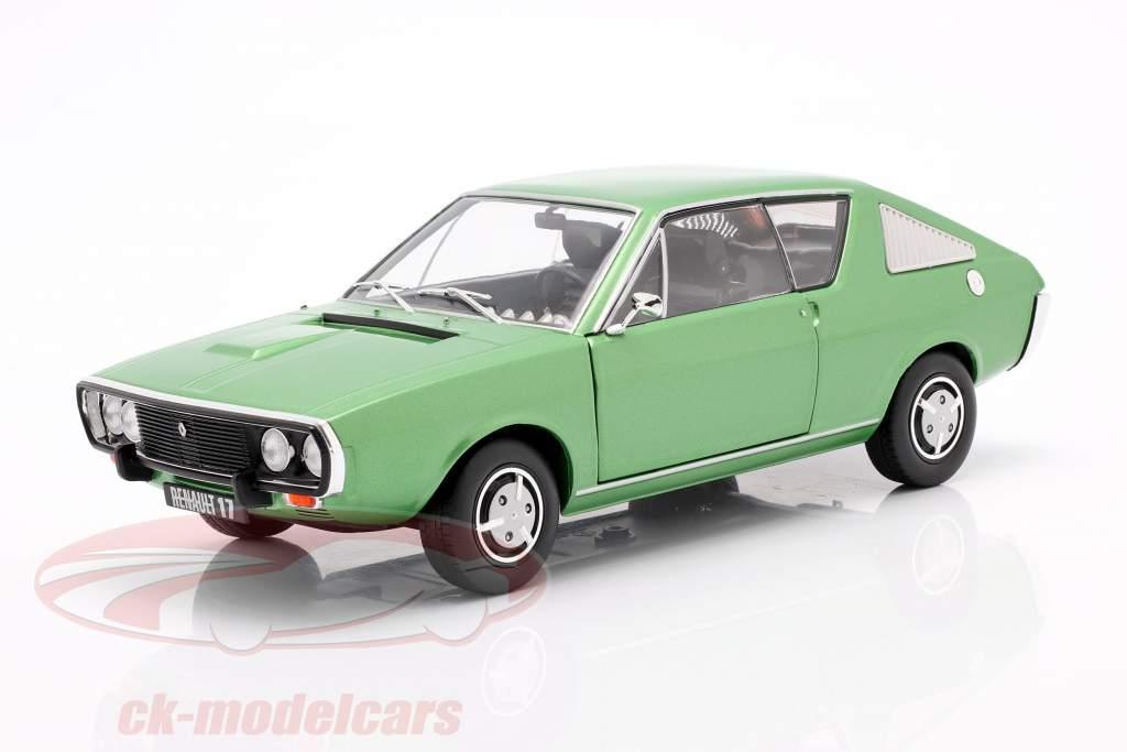 Renault R17 anno 1976 verde metallico 1:18 Solido